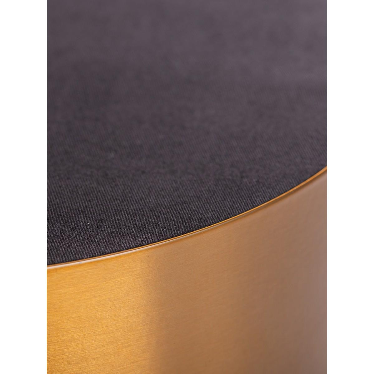 Eleganter Samthocker von Heilig Limited Edition