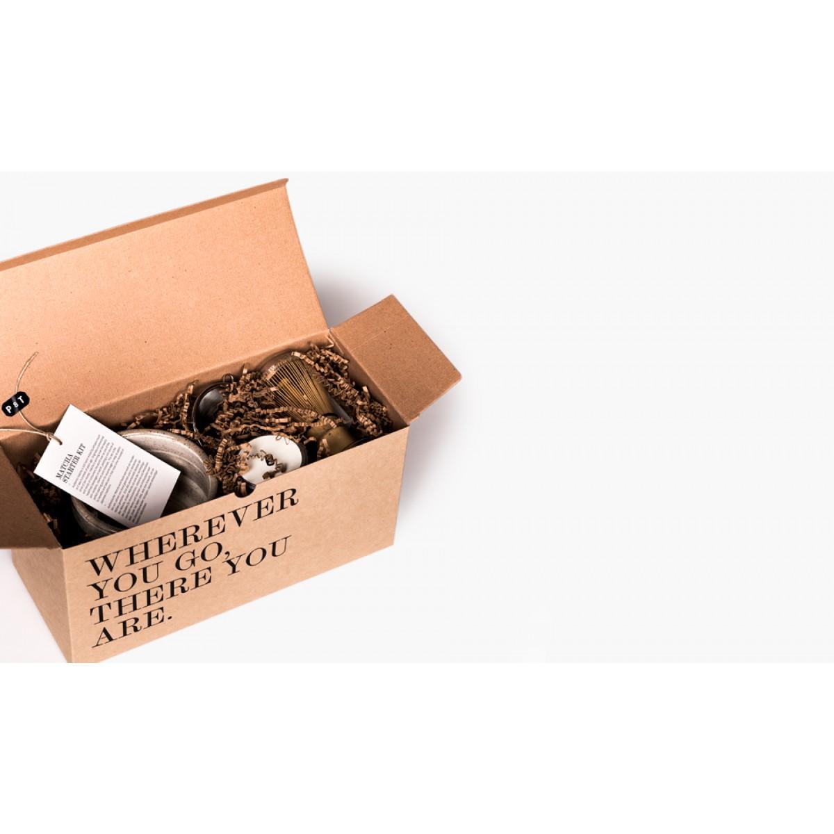 P & T Matcha Starter Kit - Grüntee Geschenkset