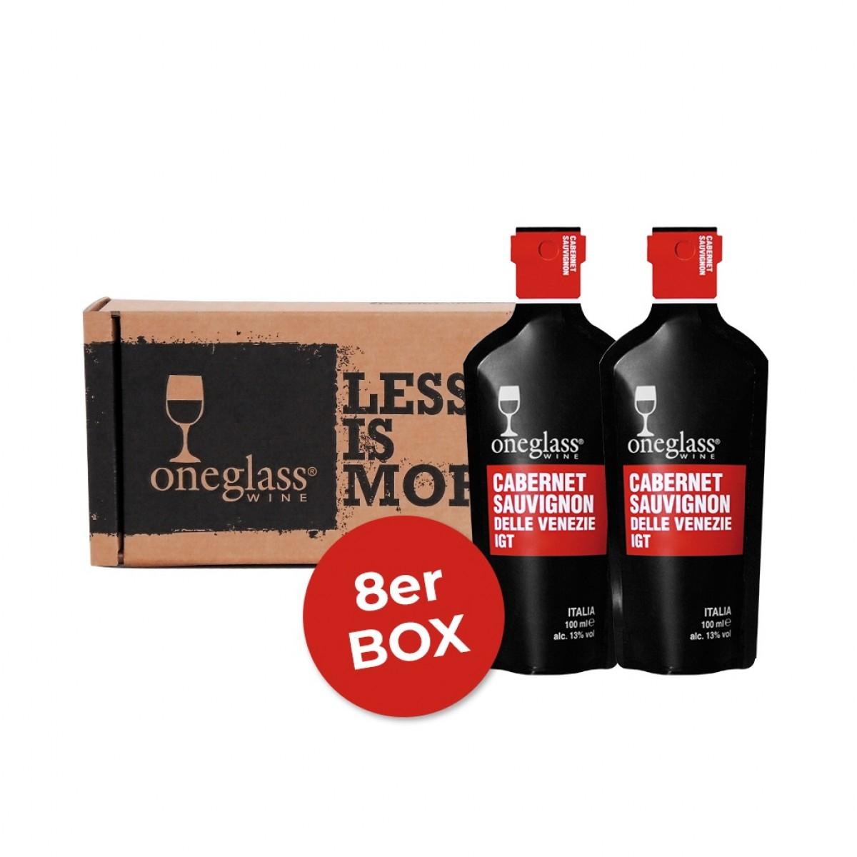 Cabernet Sauvignon Box ONEGLASS 100ml
