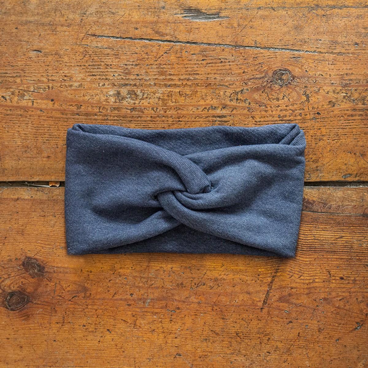 """WiDDA - Stirnband """"Blauer"""" aus Baumwolle"""