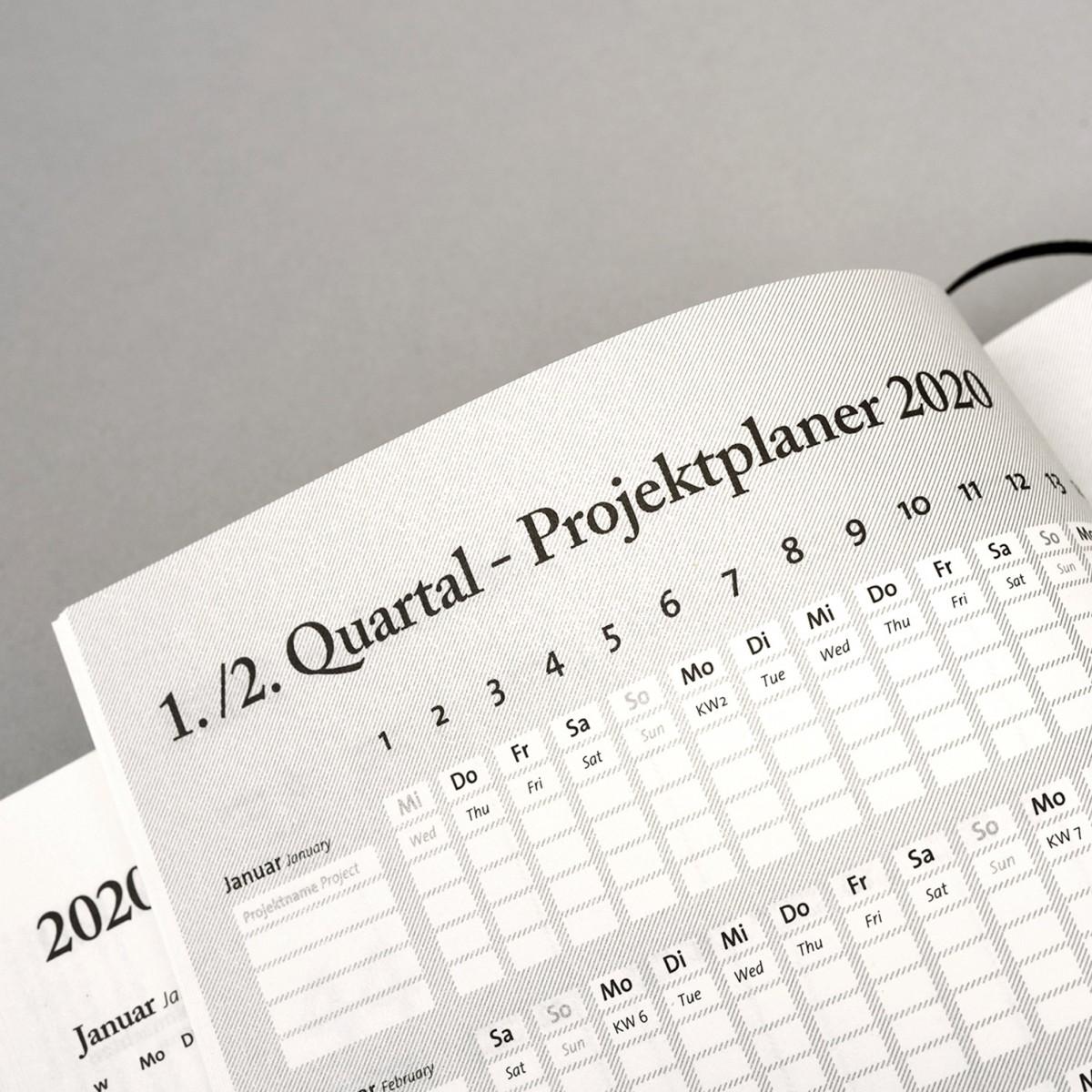 tyyp Kalender 2020 - Soft, Natur, DIN A5, Handmade