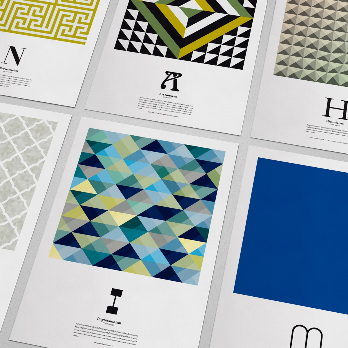 Kunst ABC Plakatserie (DIN A3)
