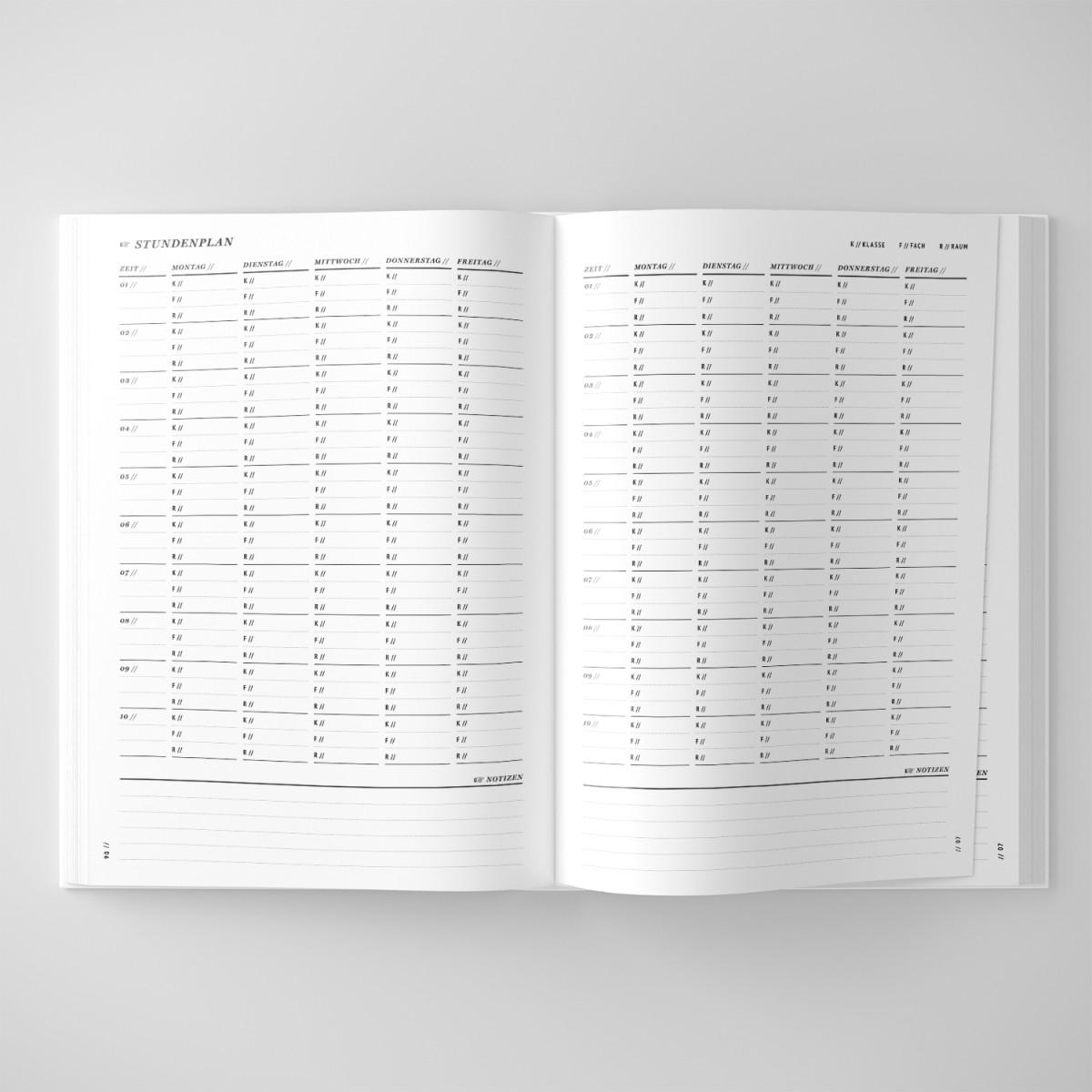 ACD DESIGN.BÜRO / Schulplaner & Lehrerkalender 2020/2021