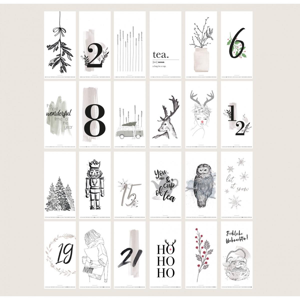 Kruth Design / ADVENTSKALENDER ART