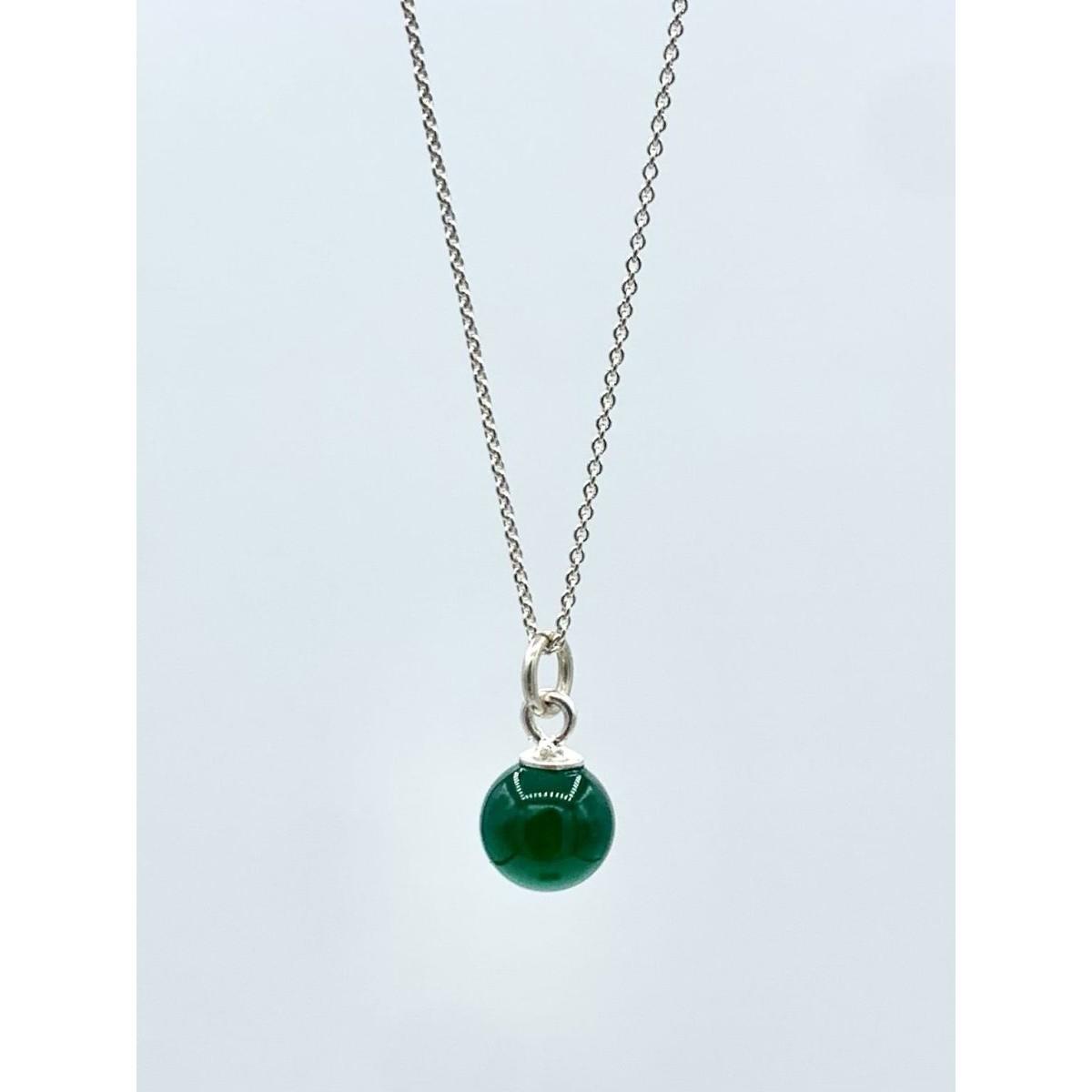 "MONASTINE | Kette ""Perle grøn No1"""