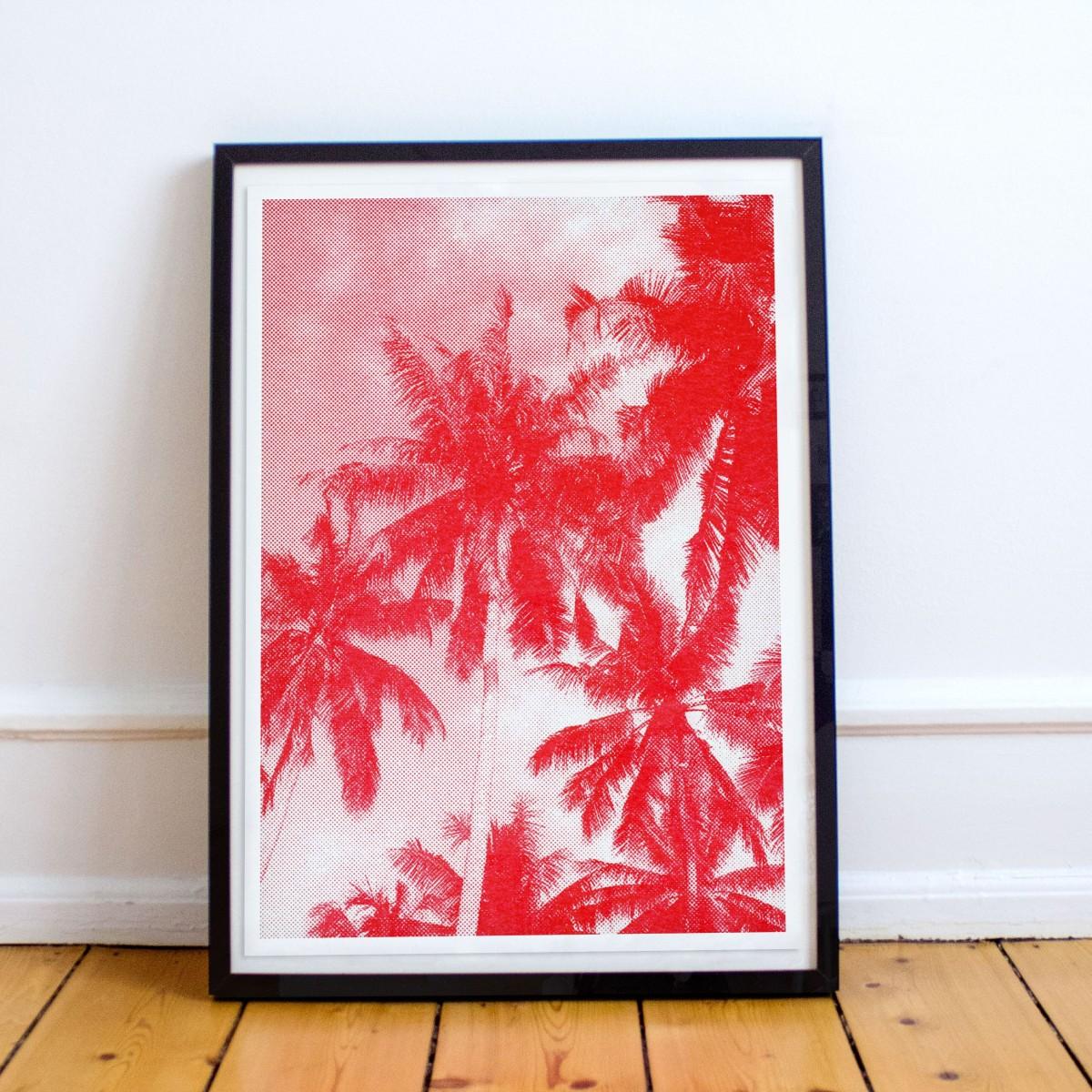 Risographie Poster – ARTPRINT SANSIBAR  – HERR & FRAU RIO