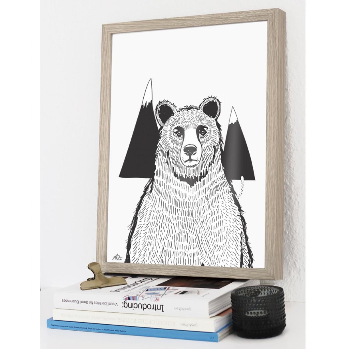 Coco Lapine Design A Bear Print
