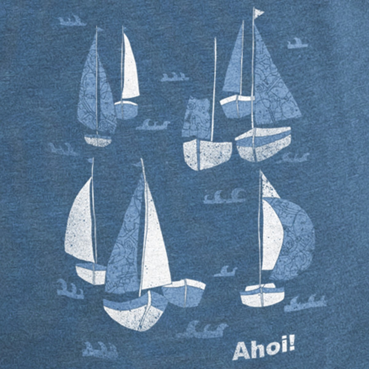 Keregan* – Schiff Ahoi! - Organic Bamboo T-Shirt
