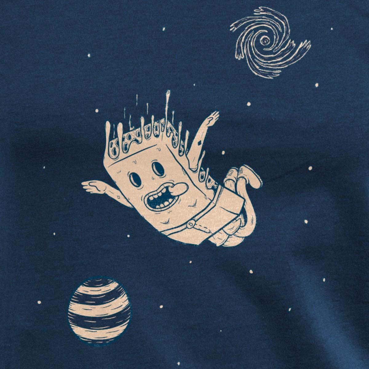 Pencake – Space Cake - Ladies Organic Cotton T-Shirt