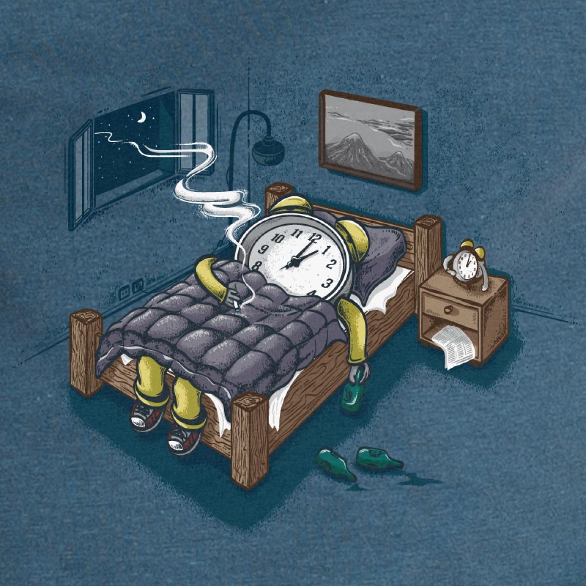 Robert Richter – Sleep Modus - T-Shirt aus der Nikkifaktur