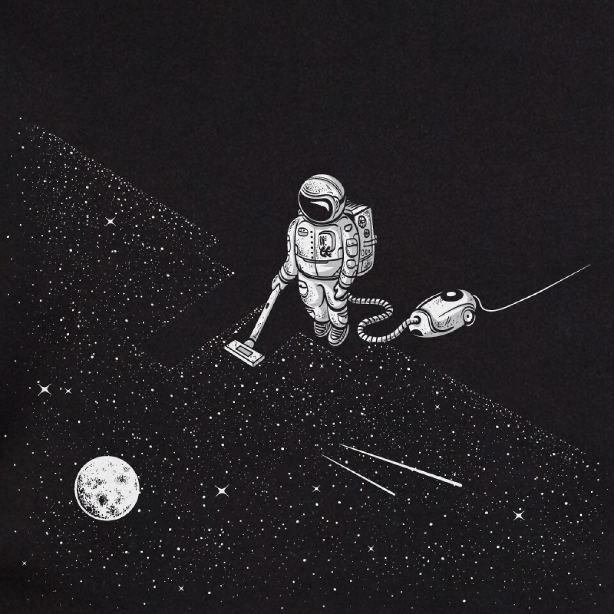 Robert Richter – Space Cleaner - Sweatshirt