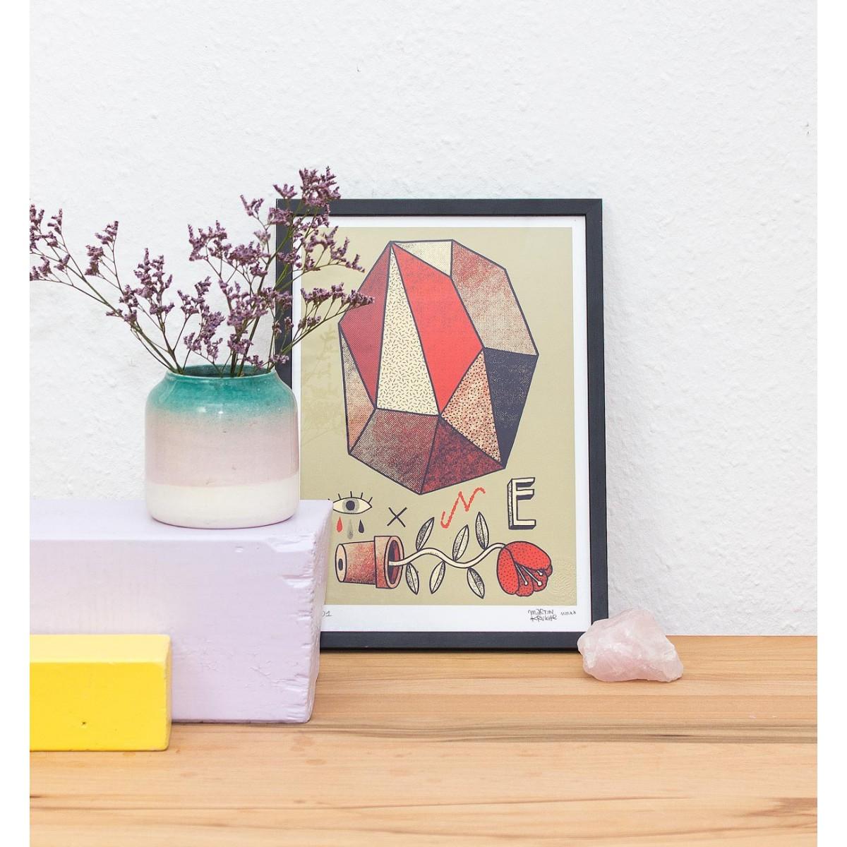 Martin Krusche - Fineartprint »Abstrakt« DIN A4