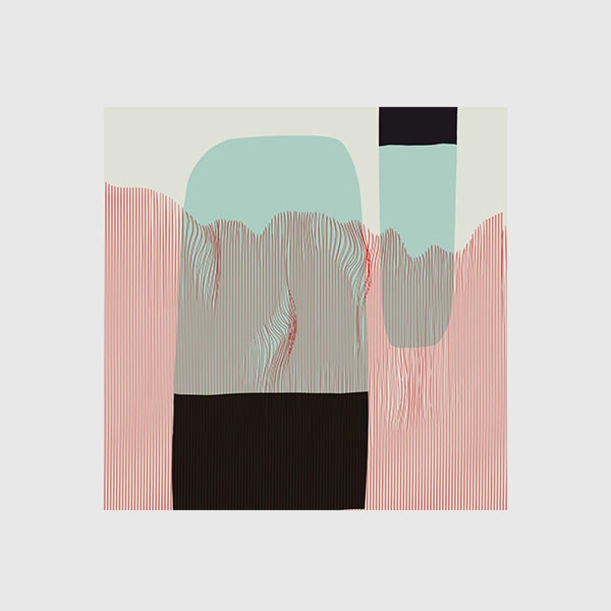 """ZEITLOOPS """"Abstrakte Landschaft"""", Posterprint"""