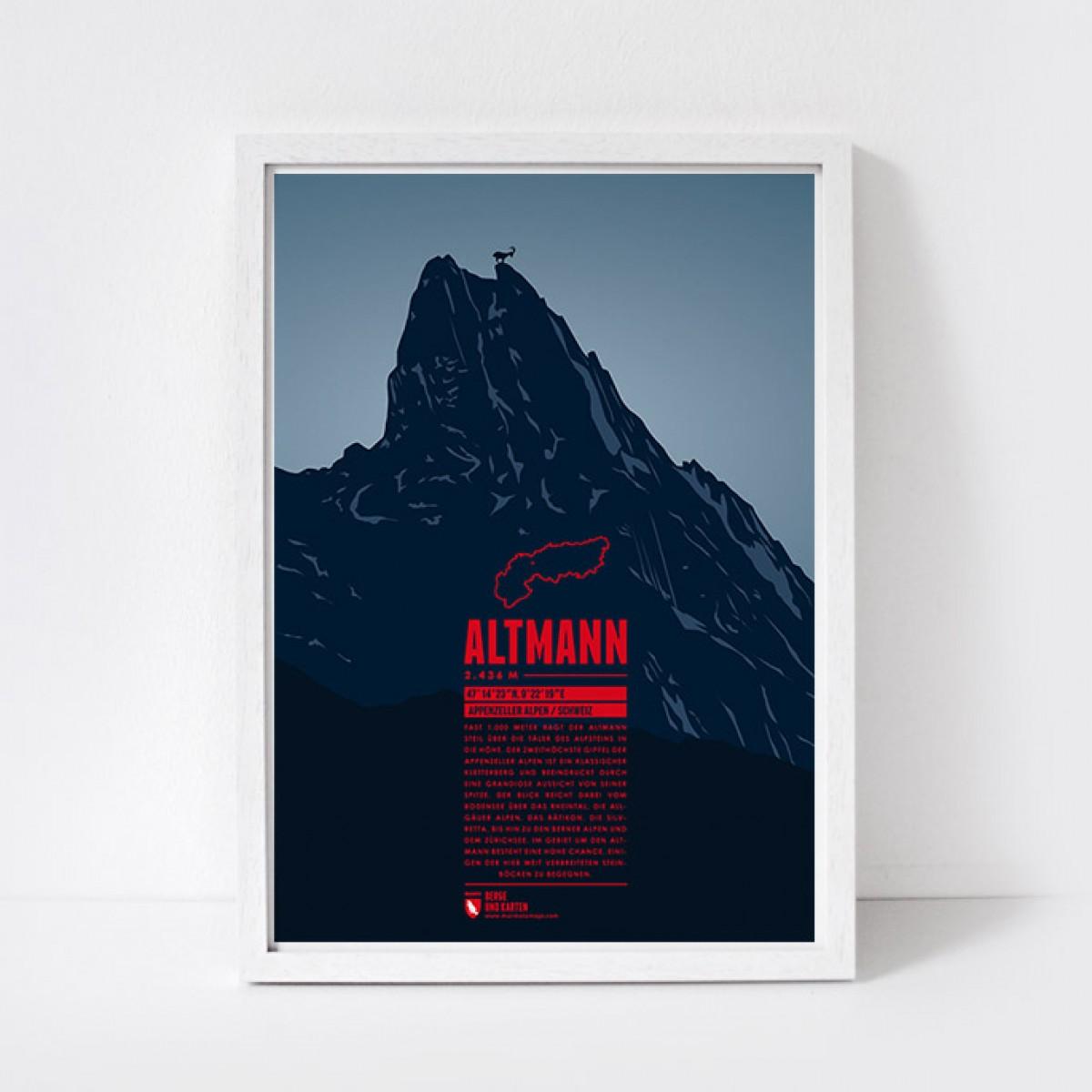 Marmota Maps – Altmann - Bergdruck