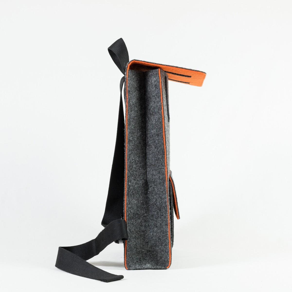 RÅVARE City-Rucksack aus Nadelfilz [AMARU]