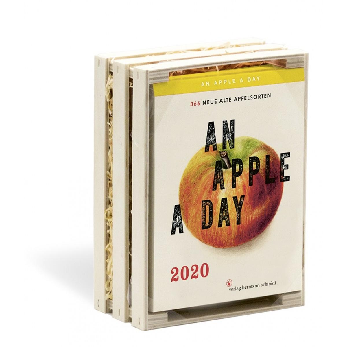 Verlag Hermann Schmidt Jochen Rädeker: An Apple a Day Kalender 2020 - 366 alte Apfelsorten