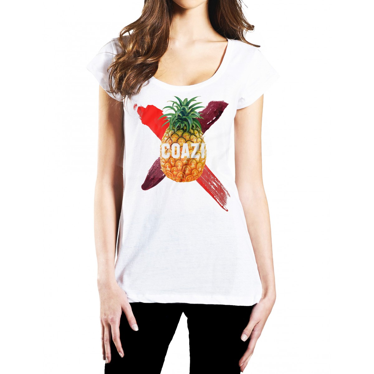 Coazi Ananas Wide T-Shirt
