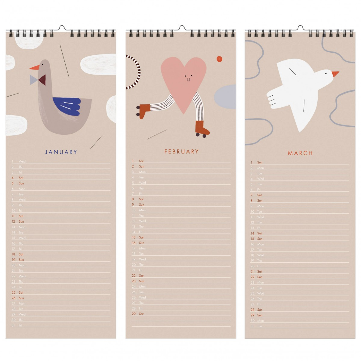 Happy - 2021 Kalender