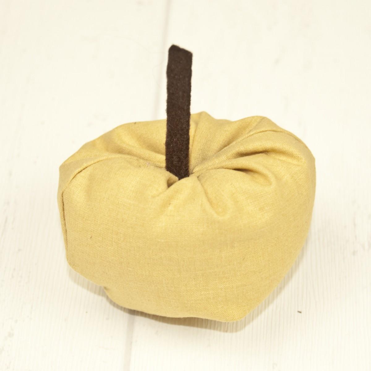 Stoffapfel - gelb 3er Set