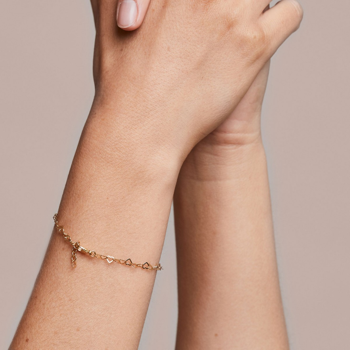 just diamonds bracelet - 925 sterlingsilber weiß rhodiniert