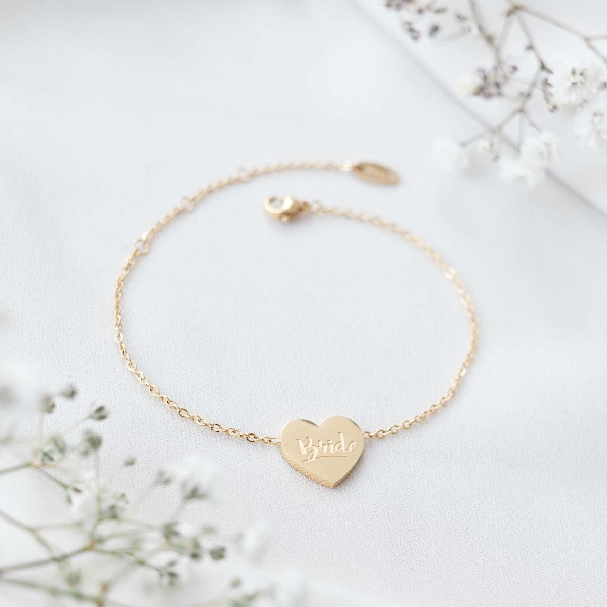 Oh Bracelet Berlin – Bride Armband II aus Edelstahl, vergoldet