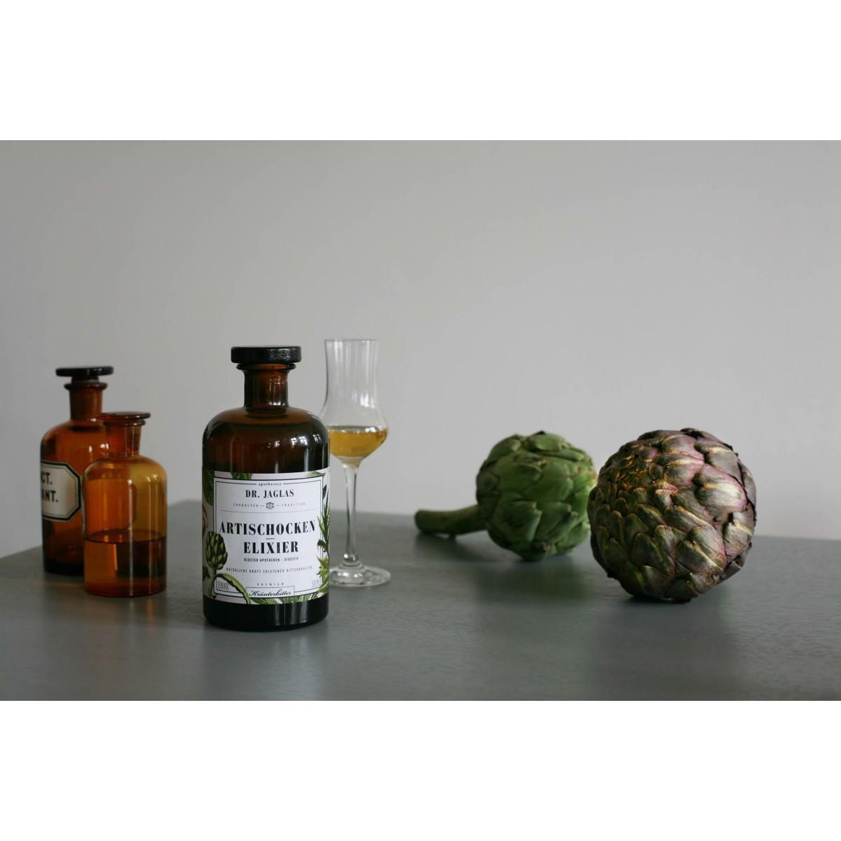 Artischocken-Elixier 500ml  Klosterapotheken Digestif 35%vol