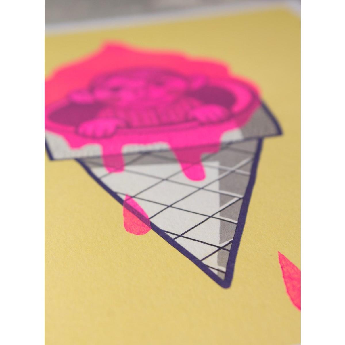 Stencil Artprint »Eisleben« DIN A4