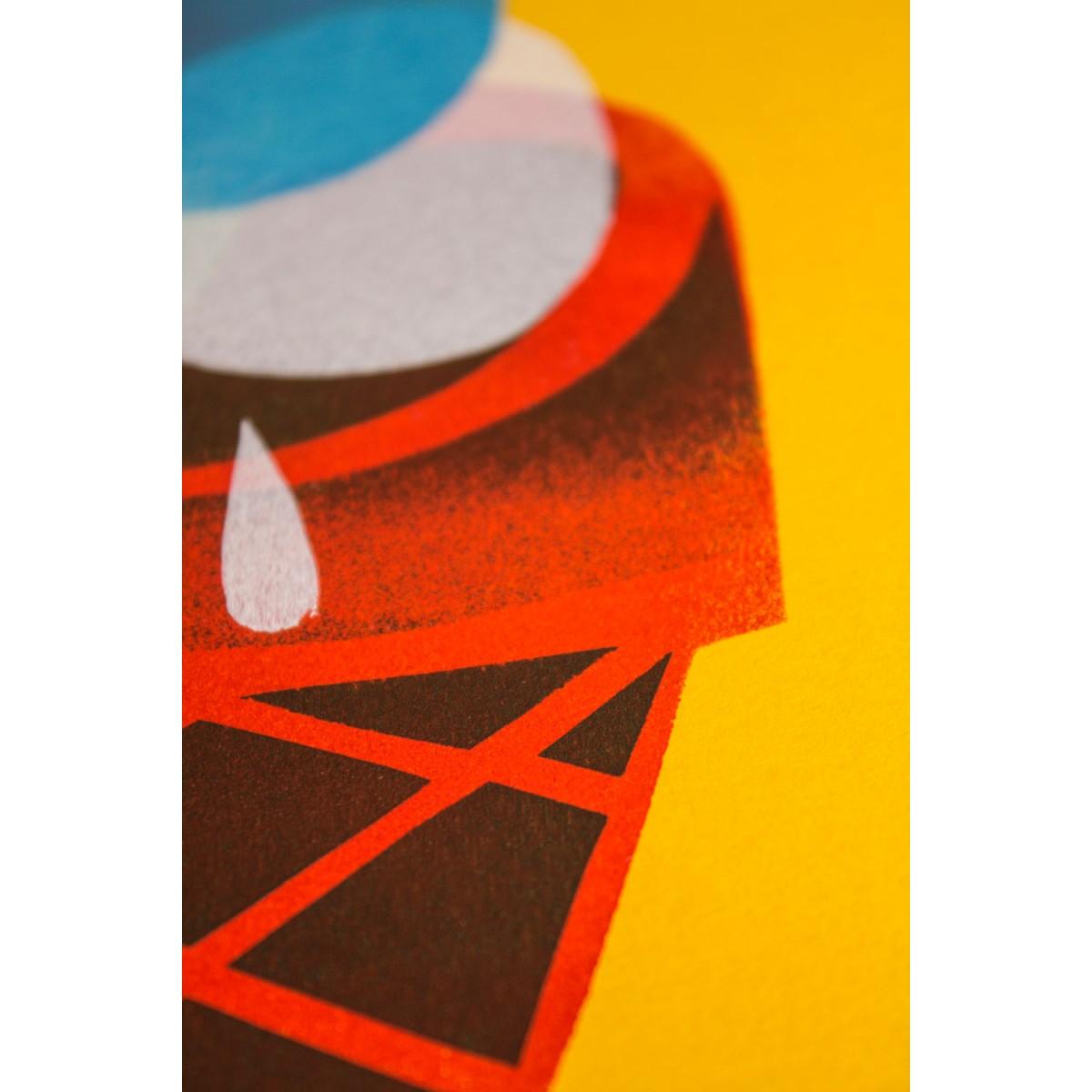 Stencil Artprint »Gelato« DINA4