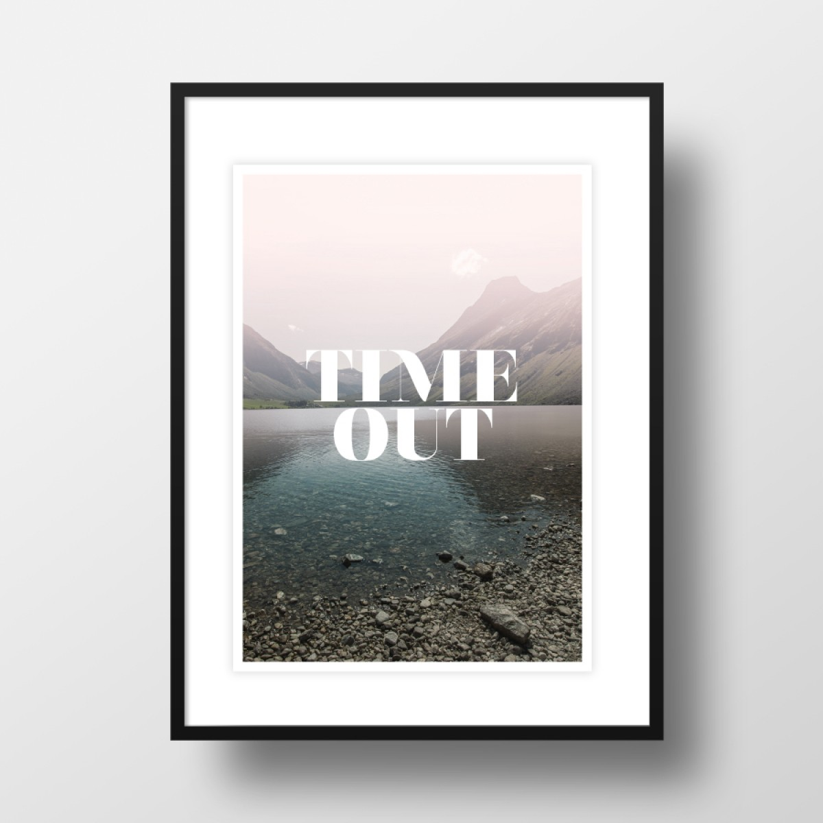"""Amy & Kurt Berlin A3 Artprint """"Time Out"""""""