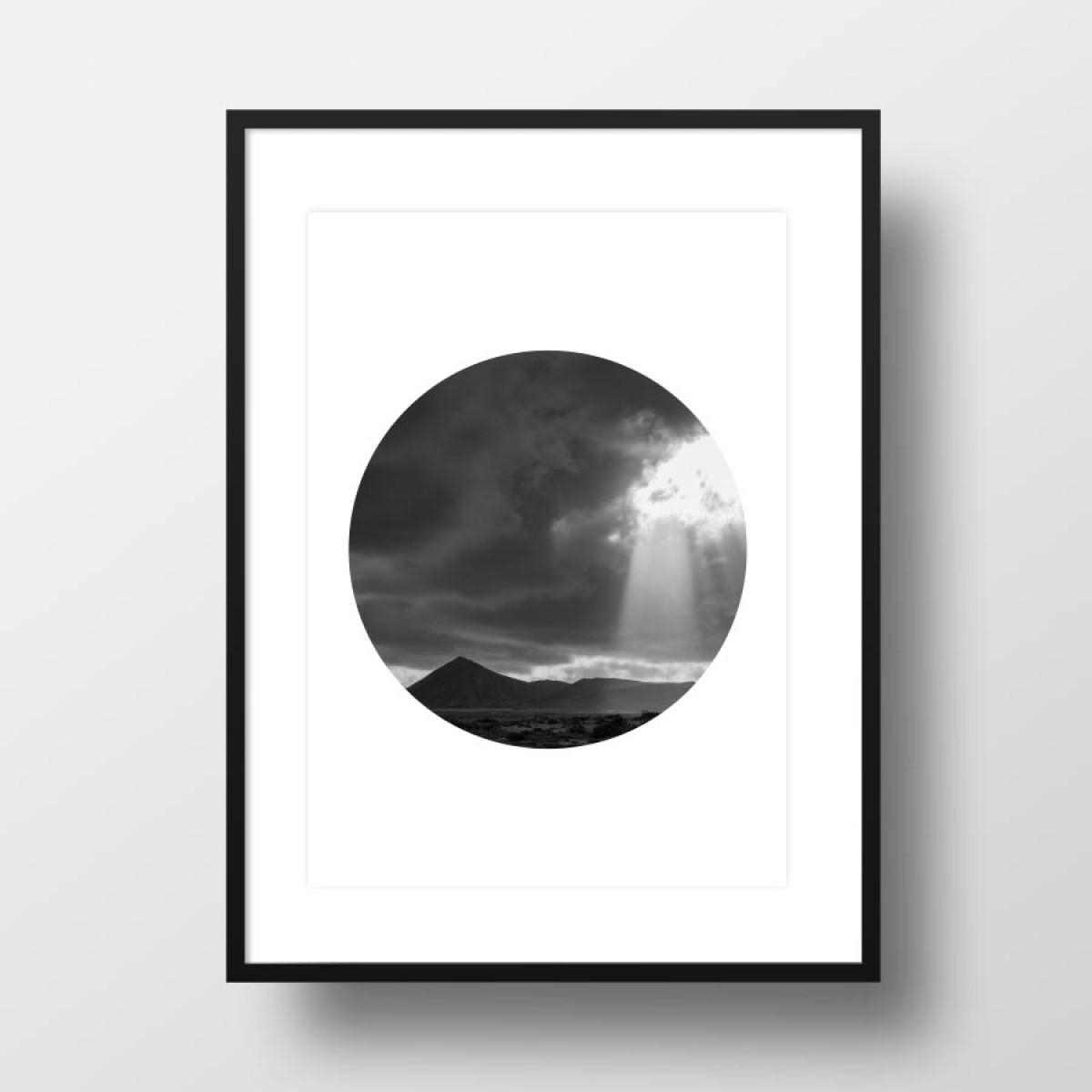 """Amy & Kurt Berlin A4 Artprint """"Island 01"""""""