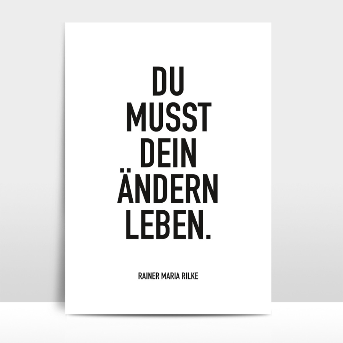 """Amy & Kurt Berlin A4 Artprint """"Ändern leben"""""""