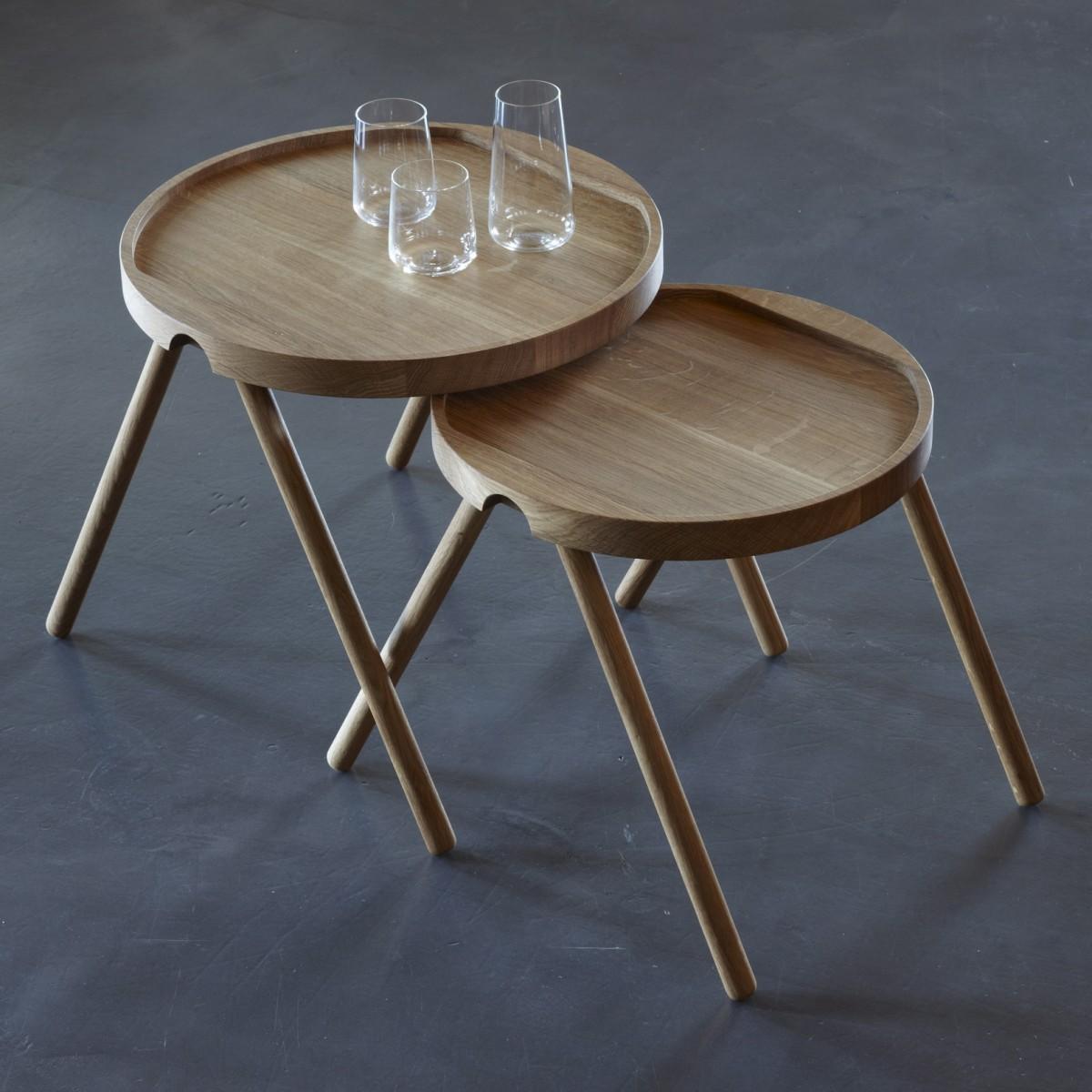 Tablett-Tischpaar Design Tobias Grau