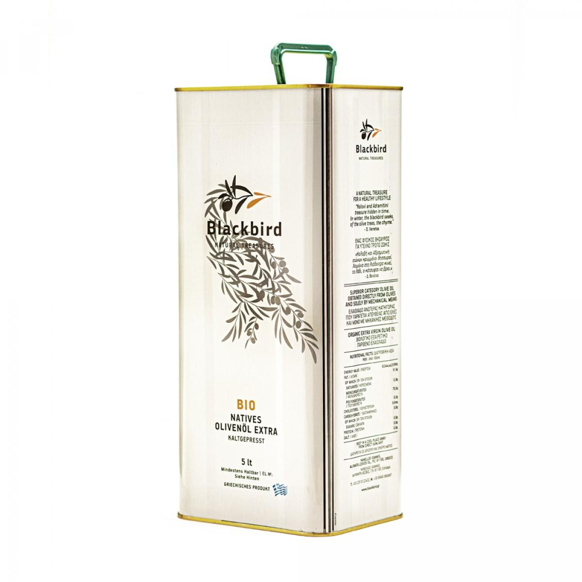 BLACKBIRD Olivenöl Extra Nativ BIO