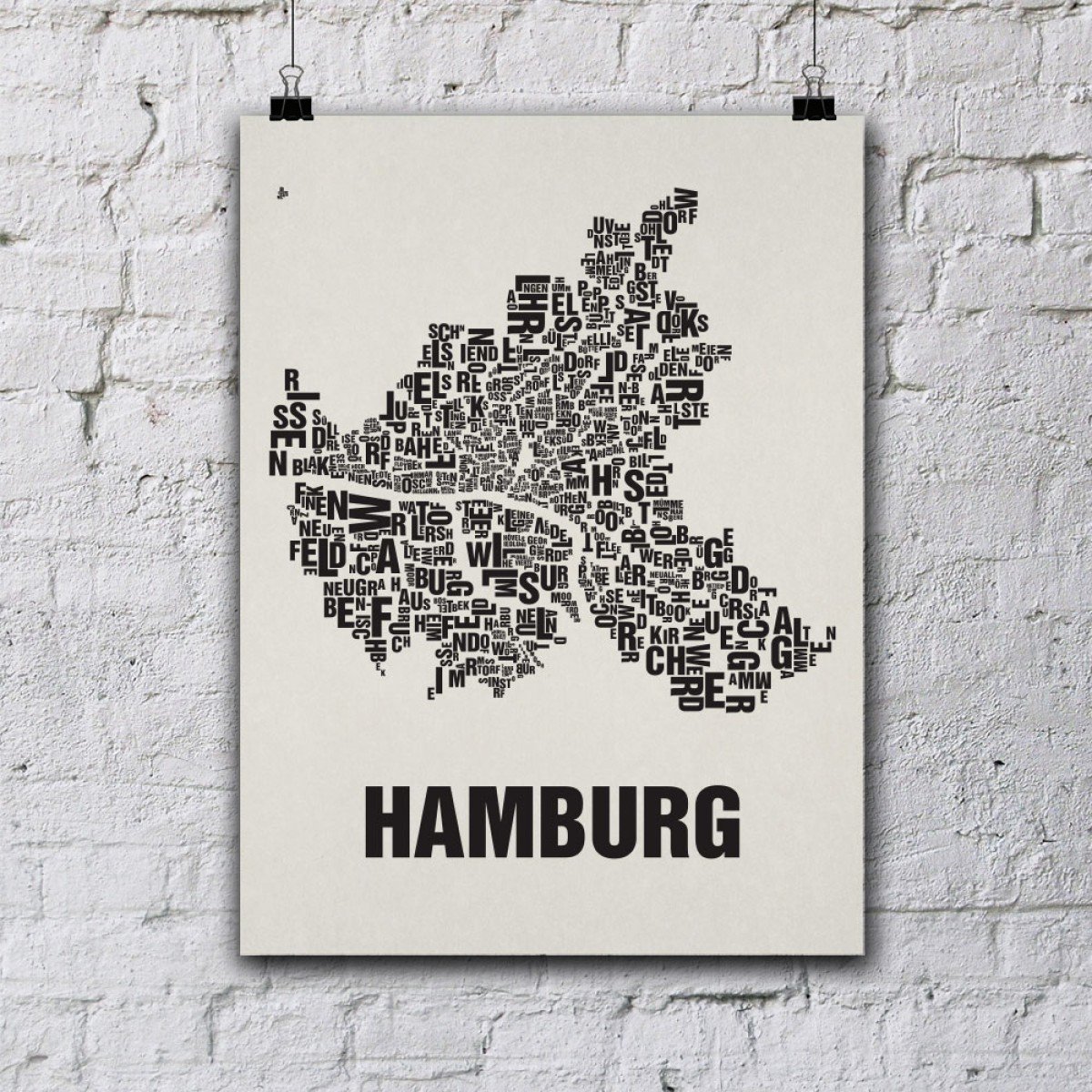 buchstabenort hamburg stadtteile poster typografie. Black Bedroom Furniture Sets. Home Design Ideas