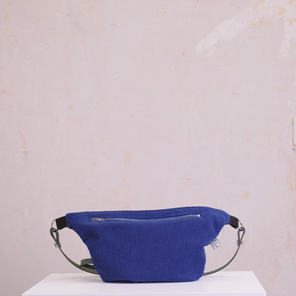 ZACAMO – Bauchtasche •Cord• kobaltblau
