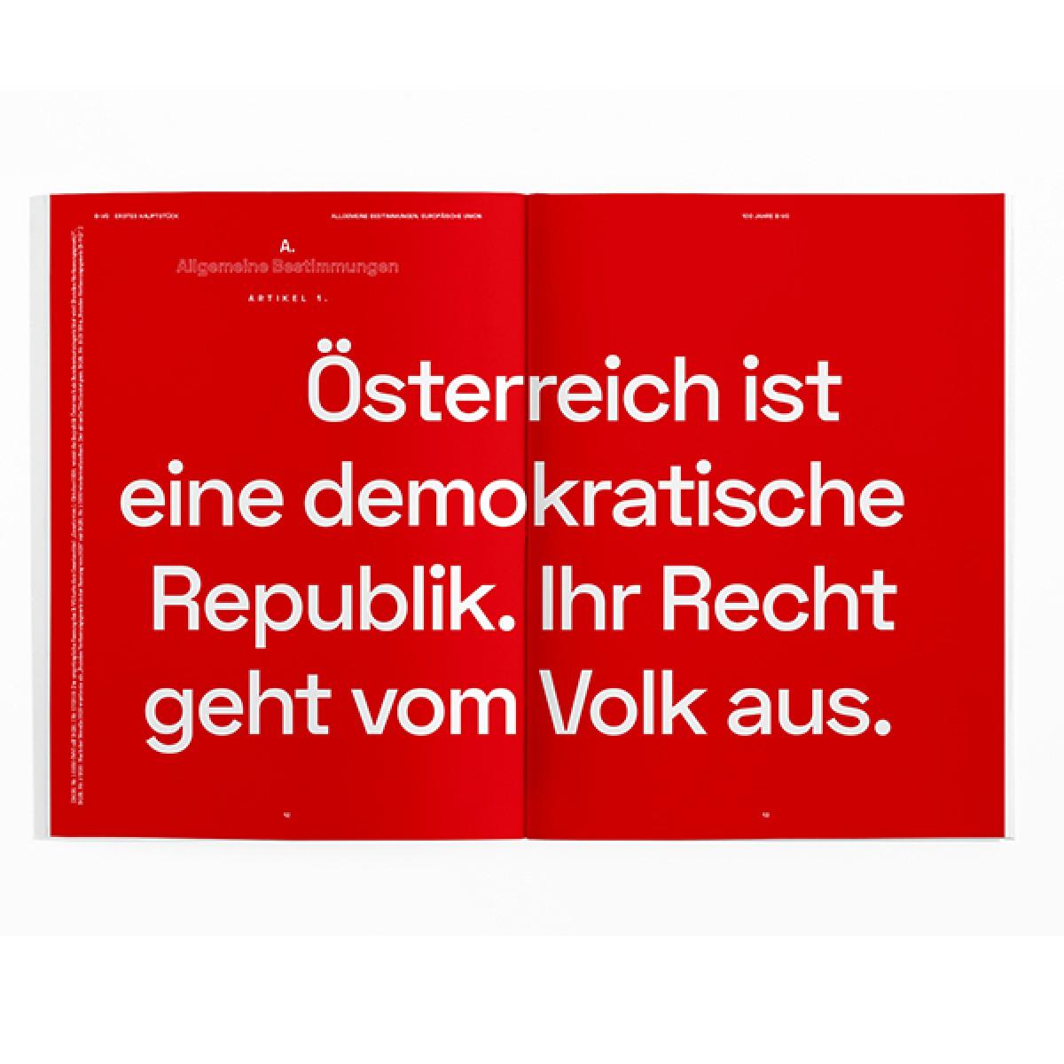 Unsere Verfassung als Magazin