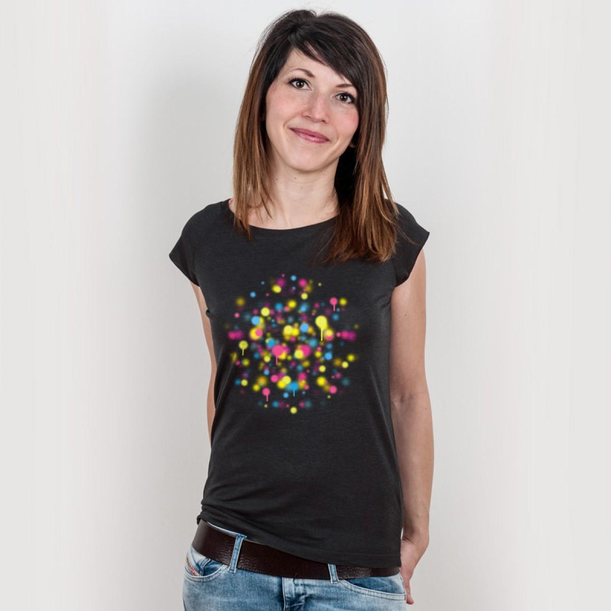 Douze – Droplines - Ladies Organic Bamboo T-Shirt