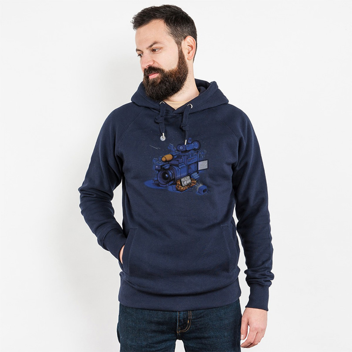 Robert Richter – Movie Break - Organic Cotton Unisex Hoodie