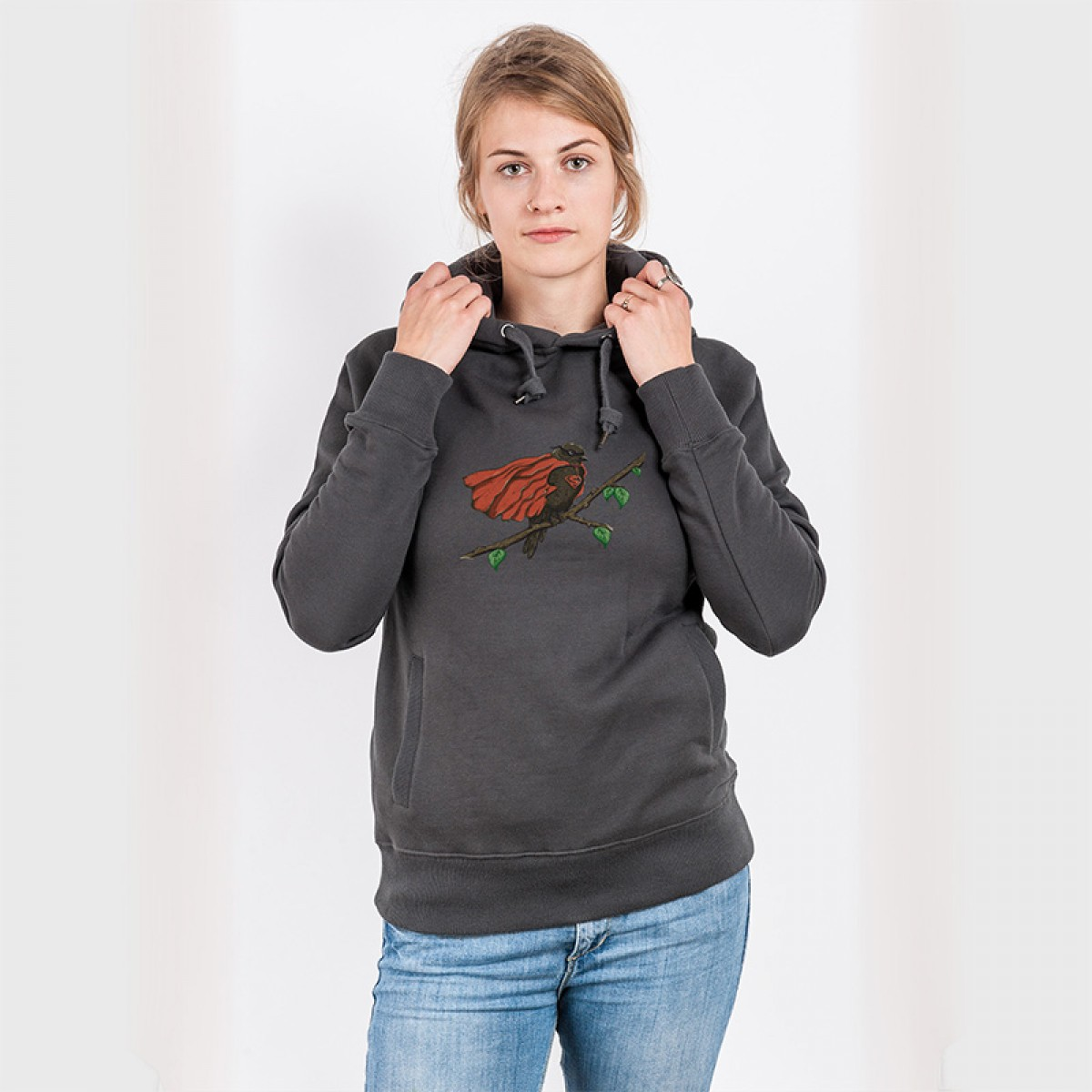 Robert Richter – Super Bird - Organic Cotton Unisex Hoodie