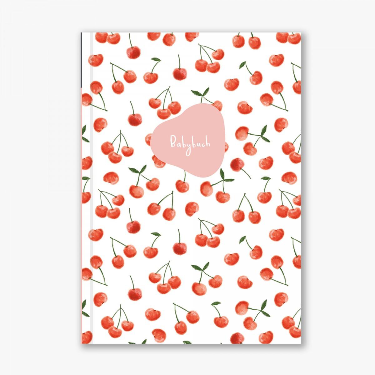 Babybuch - Mein erstes Jahr - Kirschen - Elliet