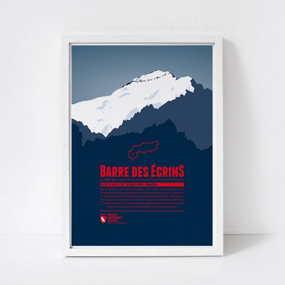Marmota Maps – Barre des Écrins  - Bergdruck