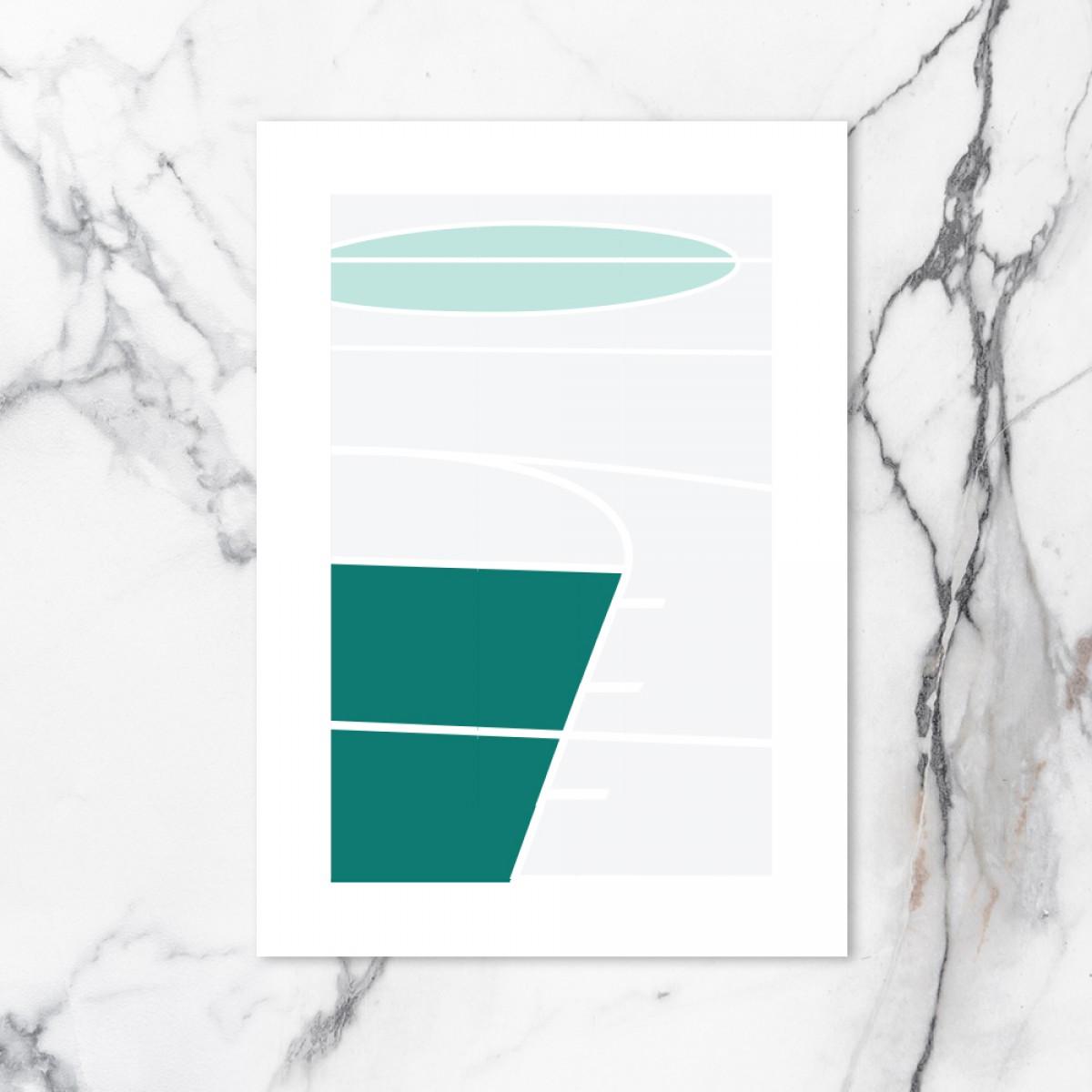 Chiara Tempel – Court #2 – Poster A3 (297x420mm)