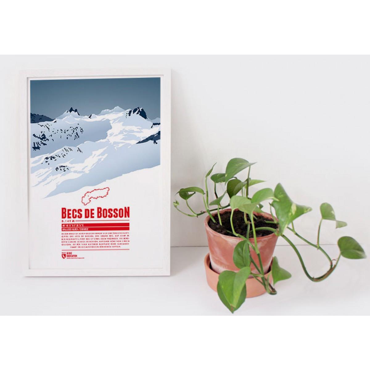 Becs de Bosson - Bergdruck