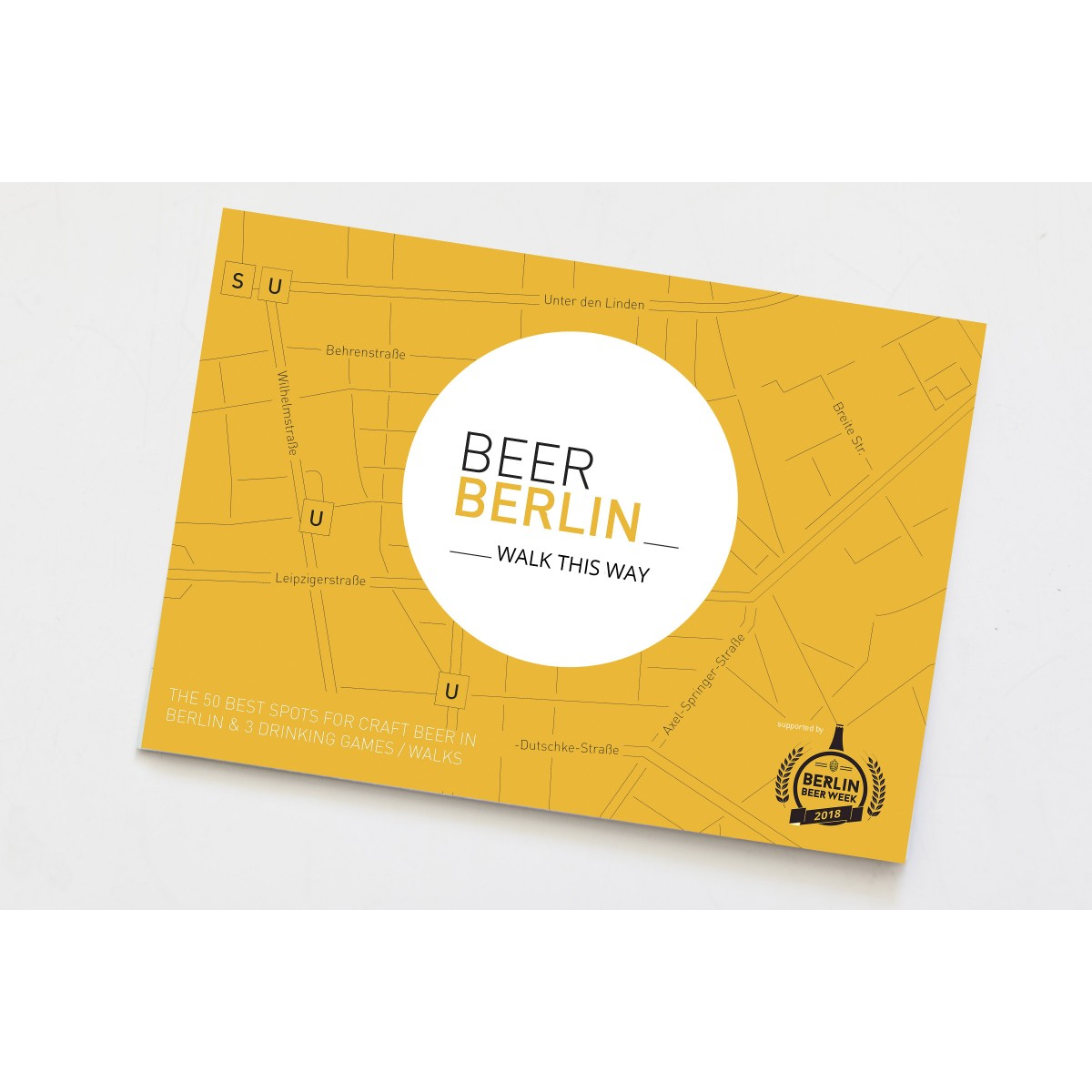 BeerBerlin Map - Walk This Way