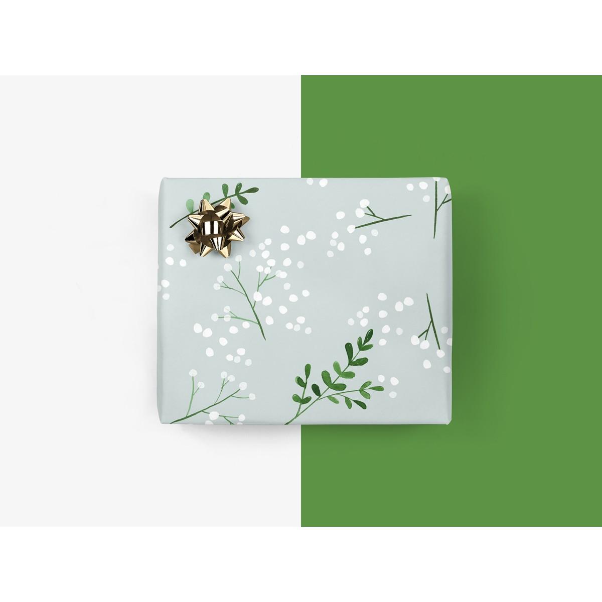 5x Geschenkpapier / Berries No. 2 (gefaltet)