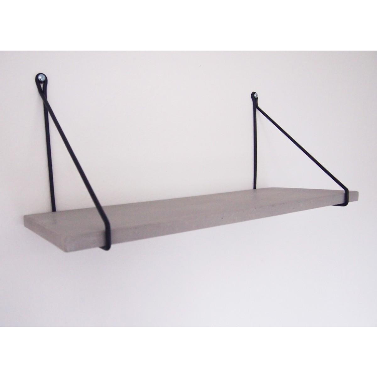moij design Uphangen - Betonregal 80 cm