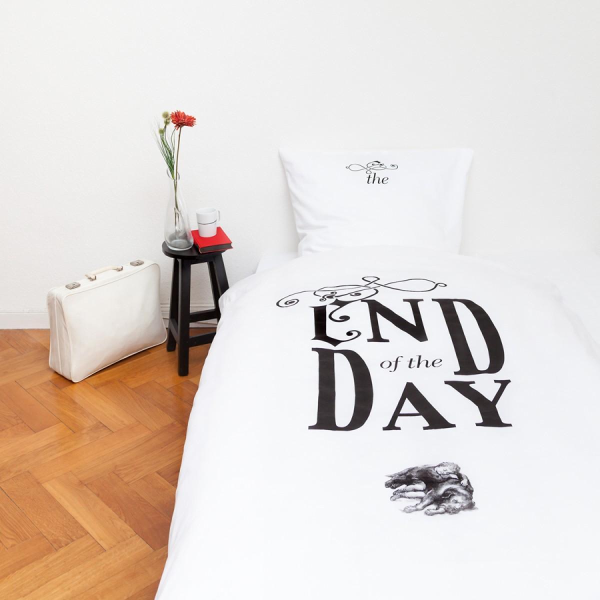 """Amy & Kurt Berlin Bettwäsche-Set """"End of the day"""""""