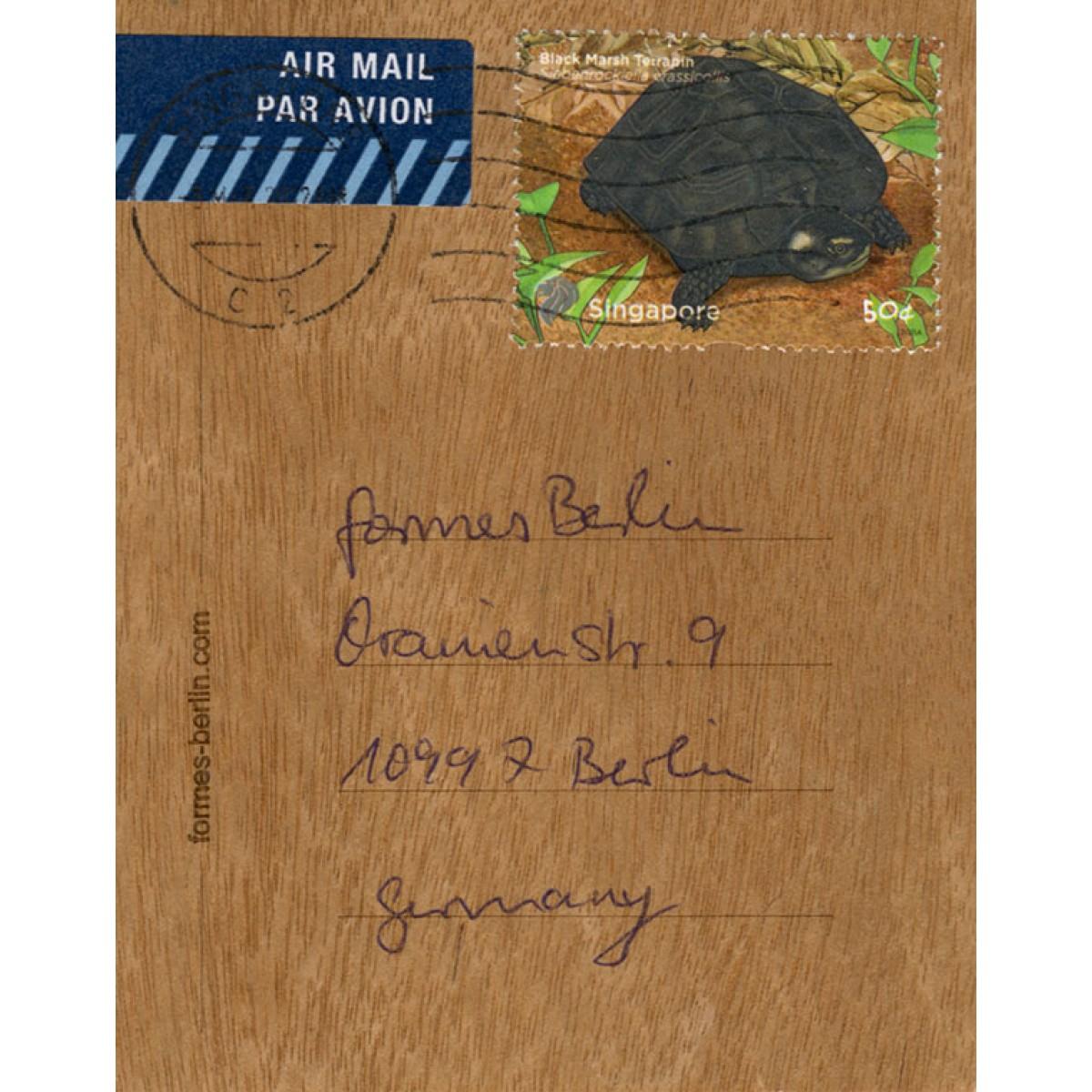 formes Berlin Leuchtturm-Karten - 6 Postkarten aus Holz