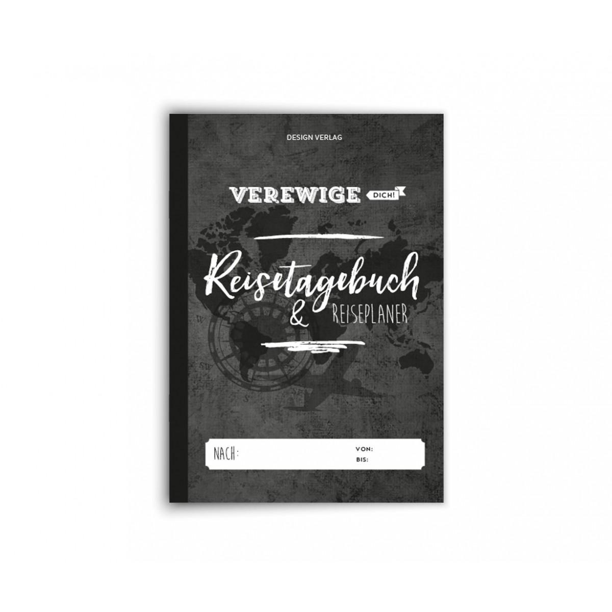 """Design Verlag Reisetagebuch + Reiseplaner """"Verewige Dich!"""""""
