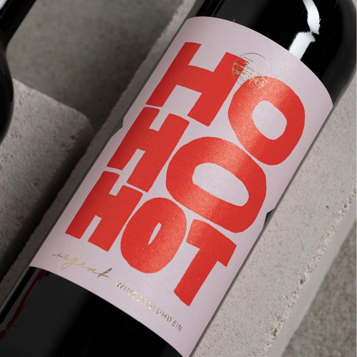 HO HO HOT - Winzerglühwein vom Weingut Krughof - 6er-/12er-Glühweinpaket (13,2 % Vol.)